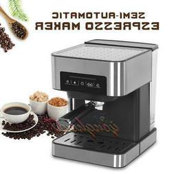 Household Semi-automatic Espresso Coffee Machine 20bar Milk