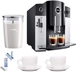 Jura 15068 IMPRESSA C65 Automatic Coffee Machine, Platinum I
