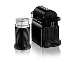 Nespresso Inissia Black Espresso Maker W Aeroccino3 Milk Fro