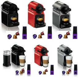 inissia espresso maker brewer 14 capsules kit