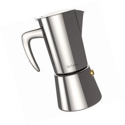 bonVIVO Intenca Stovetop Espresso Maker, Italian Coffee, Sta