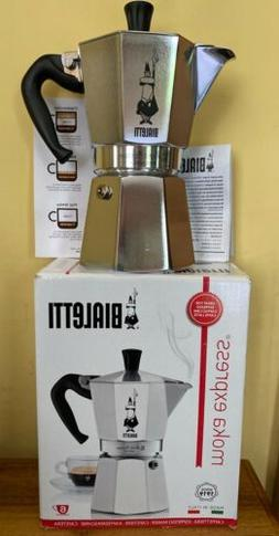 Bradshaw International 06800 Moka Express 6-Cup Non-Electric