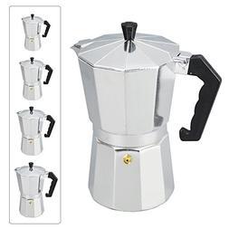 Italian Espresso Coffee Maker Tool - 1/3/6/9/12 Cup Stove To