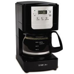 Mr. Coffee JWX3 5-Cup Programmable Coffeemaker, Black...NEW