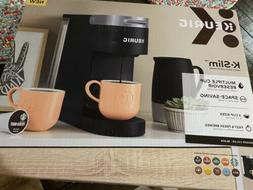 Keurig K-Slim Single Serve K-Cup Pod Coffee Maker - Matte Bl