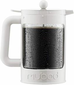 Bodum K11683-01WM Bean Cold Brew Coffee Maker, 51 Oz, Jet Bl
