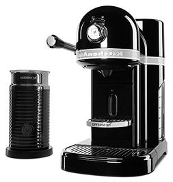 KitchenAid KES0504OB Nespresso Bundle, Onyx Black Brand New