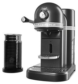 KitchenAid KES0504SZ Nespresso Bundle, Slate