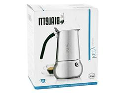 Bialetti Kitty Coffee Maker, Stainless Steel