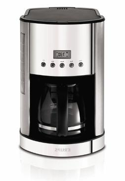 KRUPS KM730D Breakfast Set Coffee Maker Machine with Brushed