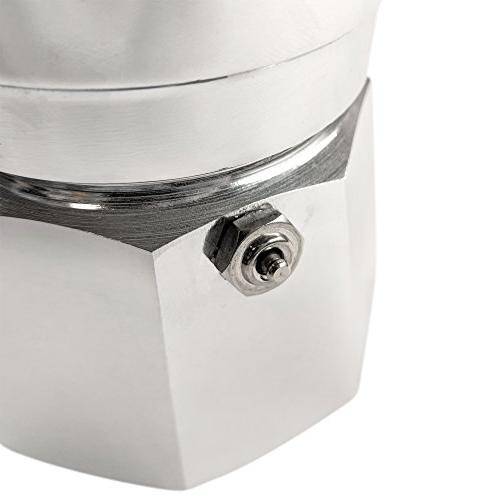 Bialetti, 06786, Moka 3 Espresso Maker,