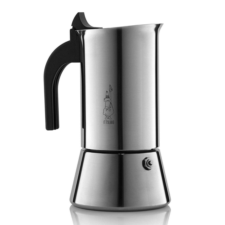 venus stainless steel espresso maker