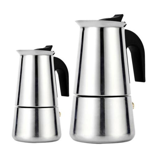 100ml ESPRESSO COFFEE MAKER PERCOLATOR POT