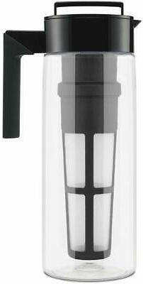 Takeya 10311 Patented Deluxe Cold Brew Iced Coffee Maker wit