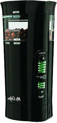 12-Cup Black Electric Coffee Grinder Maker Espresso Brew Dig