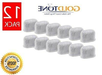 12 replacement charcoal water filters for keurig