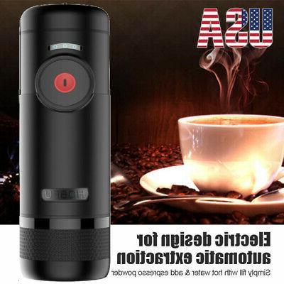 Travel Coffee Electric Portable Machine Espresso