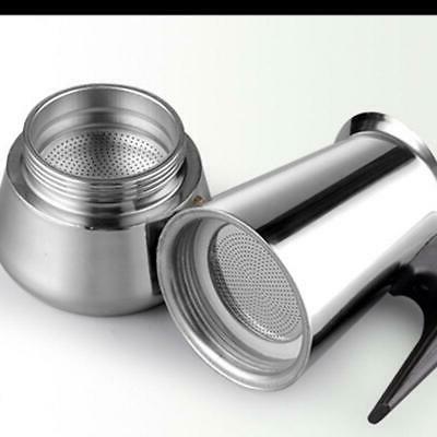 4/6Cup Maker Pot Espresso Latte Stove Office