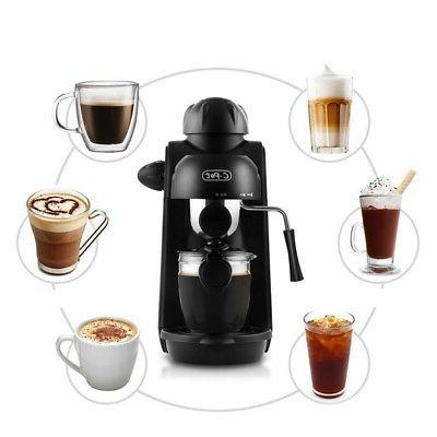 4 Steam Coffee Maker Espresso Coffee