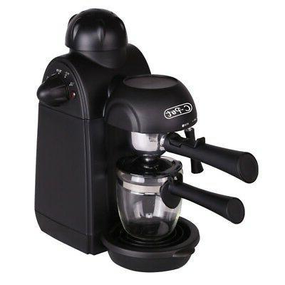 4 Cups Maker Machine Cappuccino Coffee Maker Milk