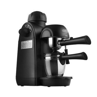 4 cups steam coffee maker espresso machine