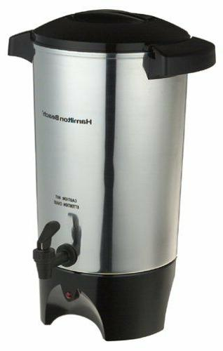 40515 42cup coffee urn silver