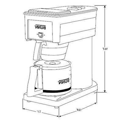 BUNN Coffee Maker,