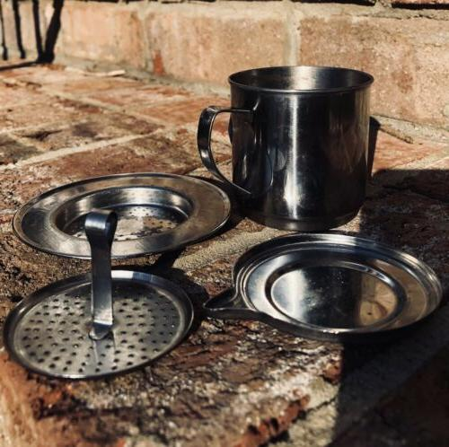 50 100ml vietnamese coffee stainless steel simple