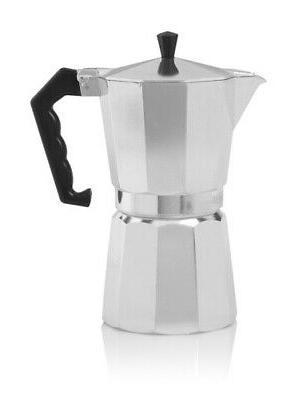 6 cup stove top espresso maker aluminum