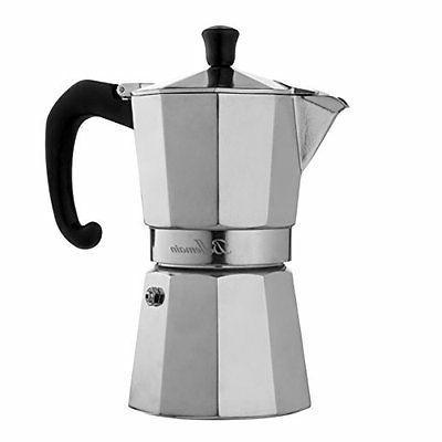 6 cup stovetop espresso maker moka pot