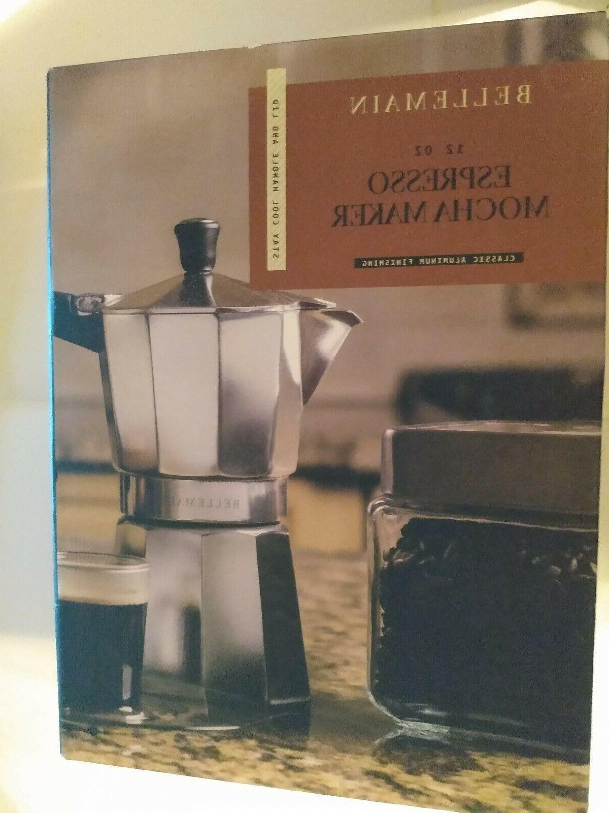 6oz stovetop espresso mocha maker pot