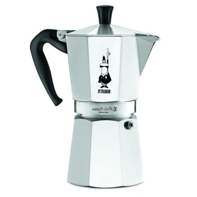 moka express stovetop espresso coffee maker pot