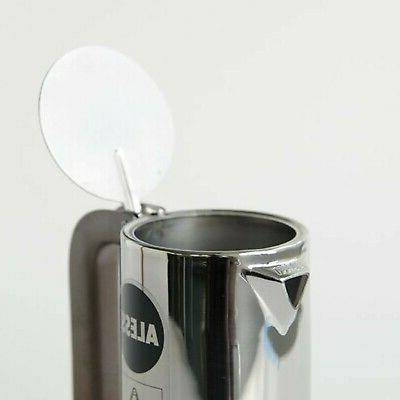 Espresso 3 Cup Maker in 18/10 Stainless