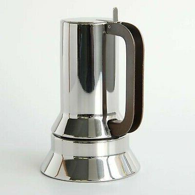 Alessi 9090/3 Espresso Cup Coffee Maker 18/10 Steel