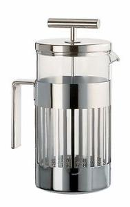 Alessi - 9094/3 - Press filter coffee maker or infuser - 3 C