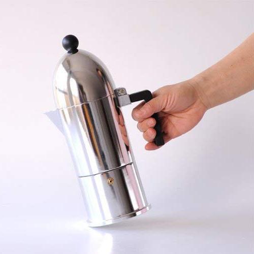 Alessi Cupola Aluminum Espresso Handle