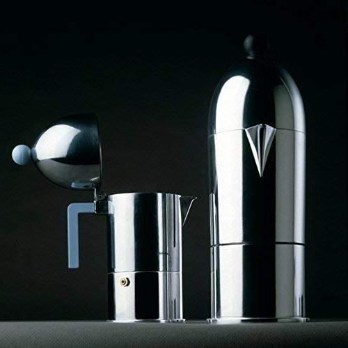 Alessi B Cupola Silver Aluminum Espresso Handle