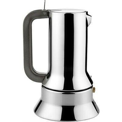 Alessi Espresso Coffee Maker 9090 by Richard Sapper, 6 Cup,