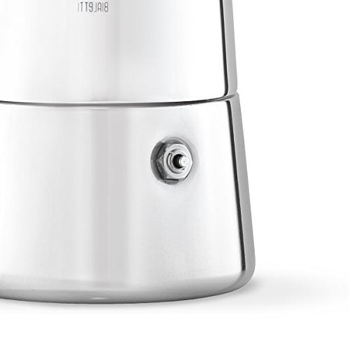 Bialetti Musa Coffee 6-Cup Stainless