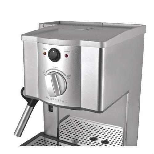 Breville ESP8XL Cafe Stainless Espresso Maker