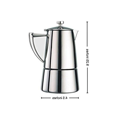 Cuisinox Roma Steel Stovetop Maker,