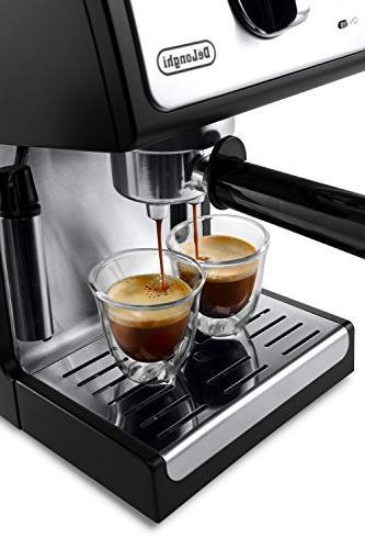 """De'Longhi ECP3420 Bar Pump Espresso and Cappuccino 15"""" Black"""
