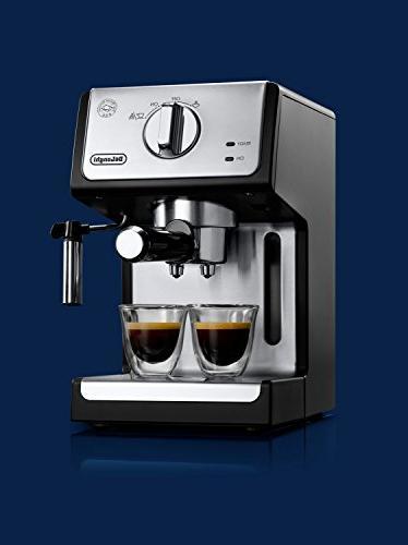 "De'Longhi Espresso and 15"" Black"