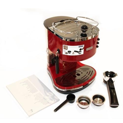 De'Longhi Pump Espresso Machine, Scarlet