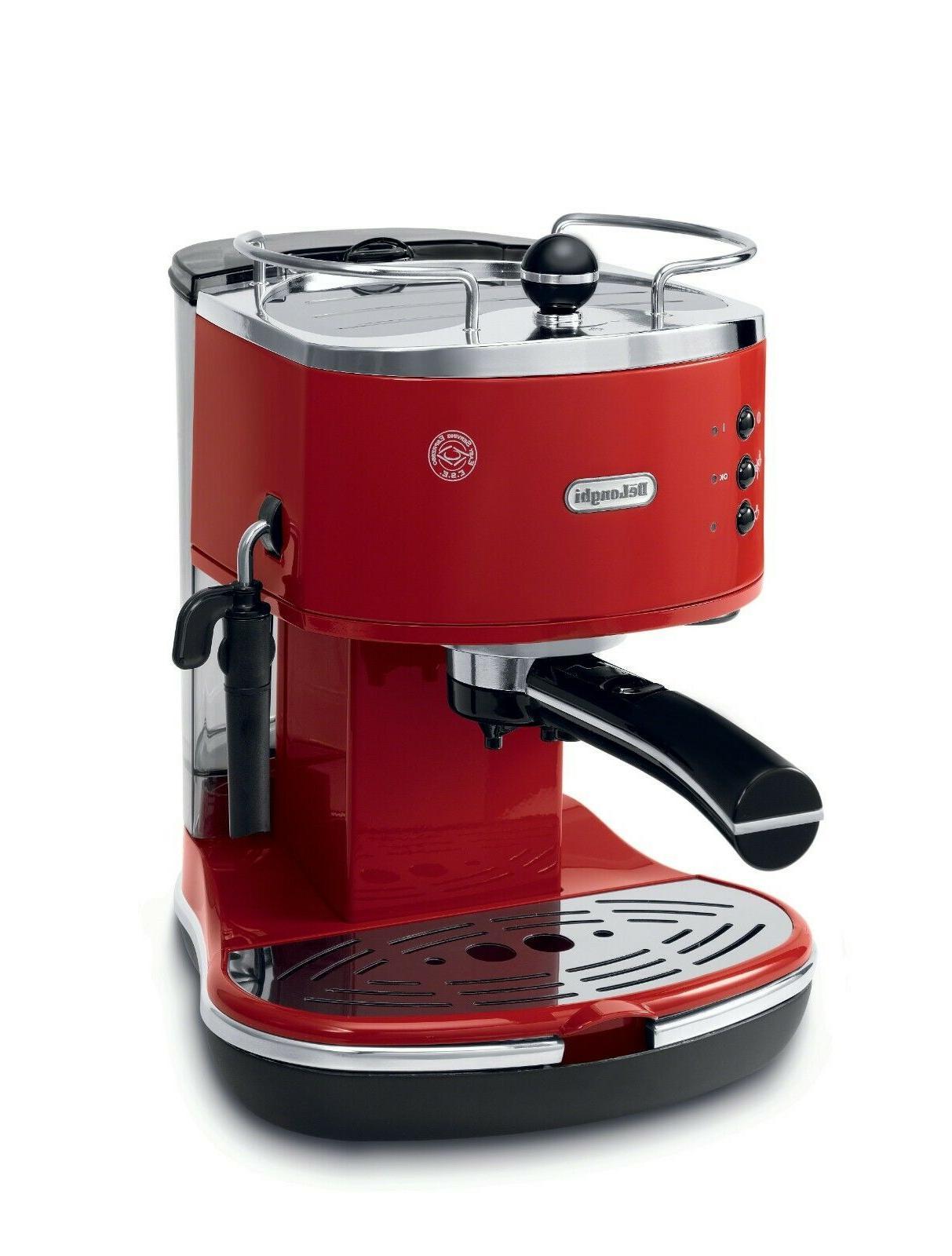 Delonghi - Icona Pump-driven Espresso Maker - Red