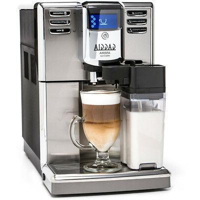 Gaggia Prestige Coffee Super Automatic Frothing Latte, Macchiato, Cappuccino and Espresso with Programmable Options