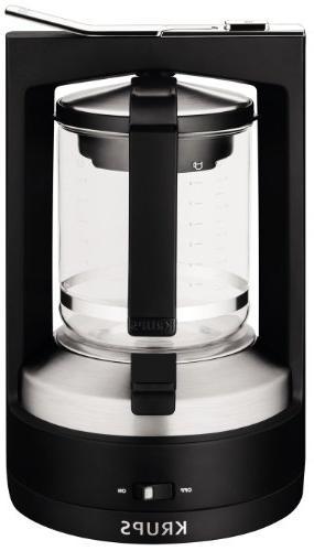 Krups Km4688 Moka Brewer Filter Coffee Maker 10 Cup