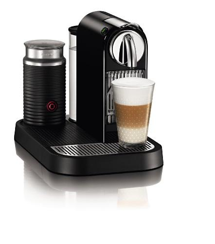 Nespresso D121-US4-BK-NE1 Citiz Espresso Maker with Aeroccin