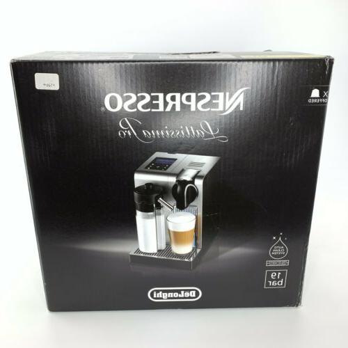 Nespresso Lattissima Pro Espresso Machine by De'Longhi, Brus