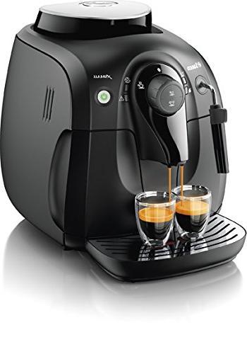 Saeco HD8645/47 Espresso Machine, Black